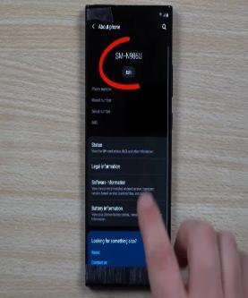 观看此早期手动视频中的三星GalaxyNote20Ultra手机