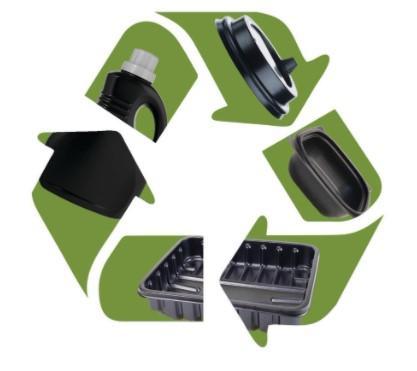 Shepherd Color Company宣布了用于回收黑色塑料的新黑色IV